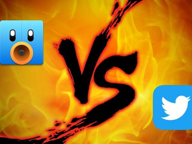 iPhone Twitter επίδειξη δύναμης: Tweetbot εναντίον Twitter