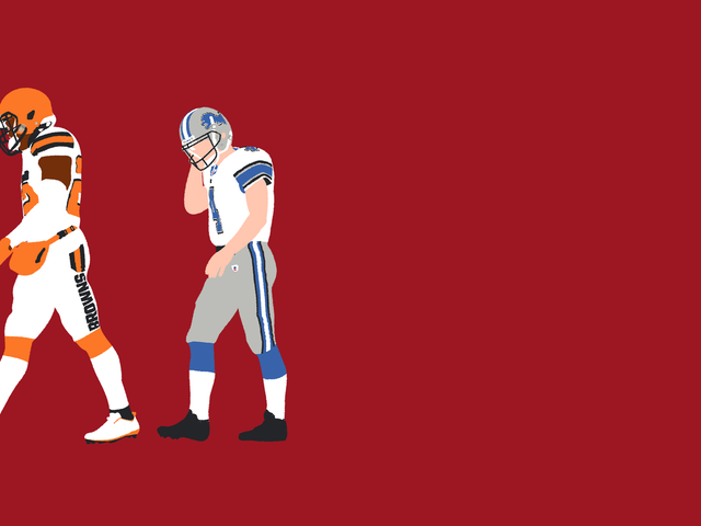 The Browns And Lions Share A Whole Lot More Misery Than Just 0-16