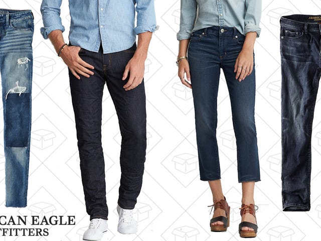 Expand Your Denim Collection with BOGO 50% Off American Eagle Jeans