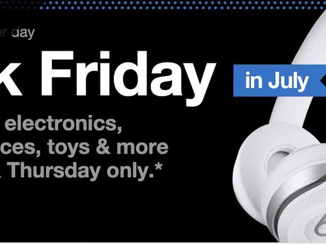 Die besten Deals von Target's Black Friday im Juli Sale