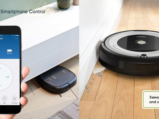 Give the Gift of a Robotic Vacuum, Starting At Just $160 [Update: Back In Stock]
