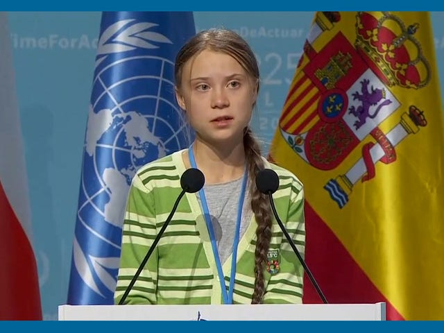 'We No Longer Have Time:' Greta Thunberg Schools the World at UN Climate Talks
