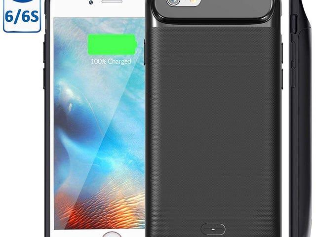 2500mAh Portable Charger Case Power Bank Rechargeable Pinalawak na Baterya Para sa iPhone 6s / 6 $ 15.59