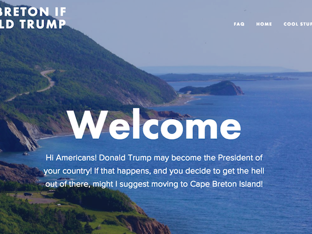 Canadian Island Politely Offers Americans Refuge From a Trump Presidency