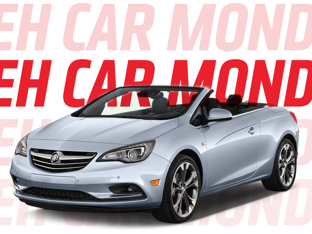 Meh Car Monday: All Hail the Buick Cascada, a Car You Never Think About