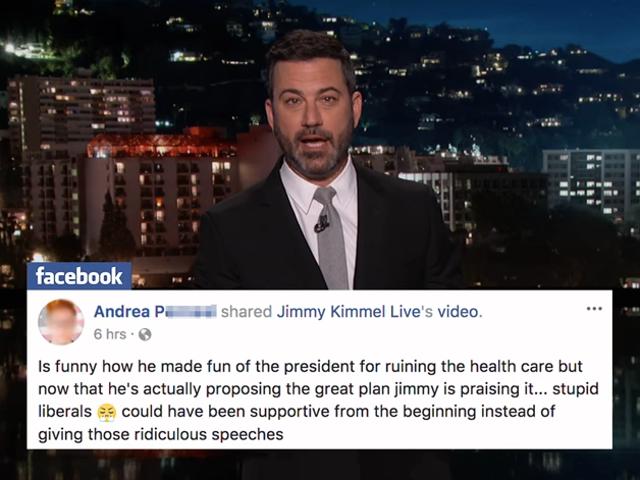 Jimmy Kimmel thừa nhận anh ta đã sai, kêu gọi tất cả mọi người đăng ký sử dụng TrumpCare-at HealthCare.gov