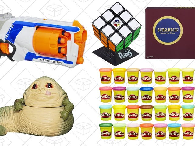 Save on Board Games, Action Figures, and More In Amazon's Easter Toy Sale