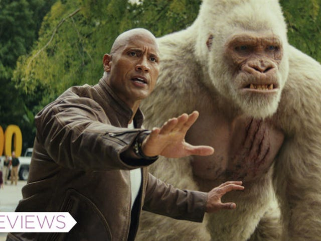 Rampage Suffocates Great Video Game Action With a Boring Movie Plot