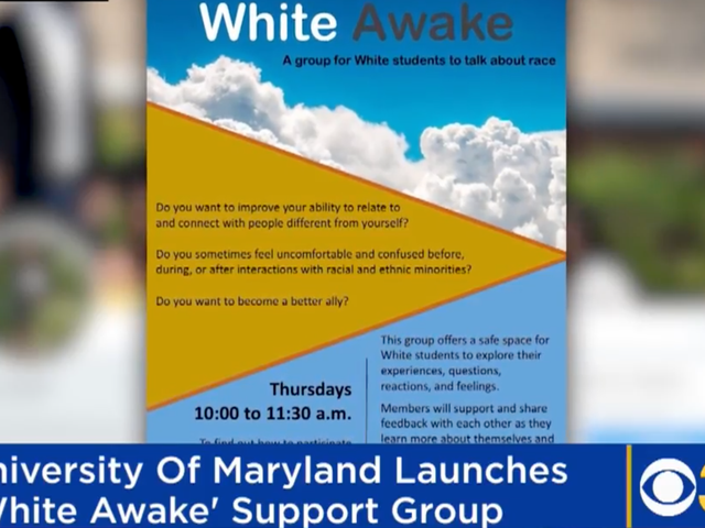 'Safe Space for White Students' Backfires at University of Maryland