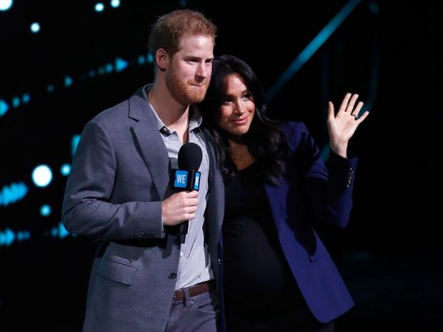 "Sussex Royal Watch Goes Live: Meghan ja Harry ovat nyt ""Gram!"