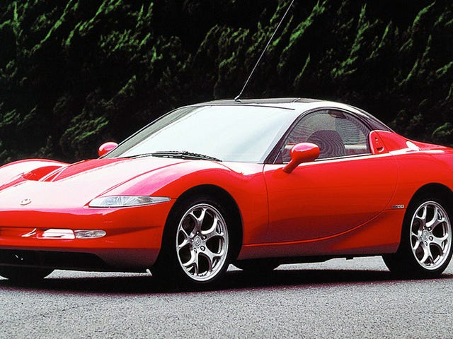 When the twin-turbo Mazda RX-7 got too expensive in the 1990s, Mazda responded by devising the smaller, cheaper, naturally aspirated RX-01... and then never made it. That's a shame, if you ask me!