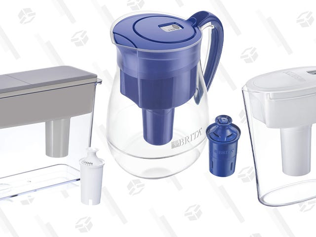 Save A Bunch On These Brita Pitchers, Thanks to Amazon's Gold Box