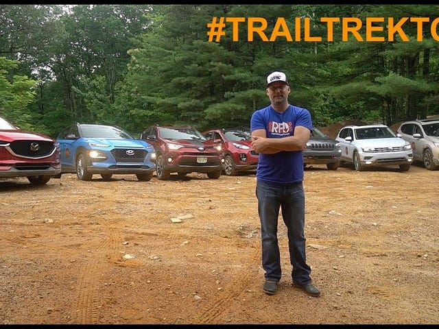 Trail Trek Tour Video - Testing 7 Crossovers Off-Road