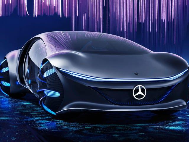 Mercedes-Benz afslører, hvordan han ser fremtiden med en bil inspireret af Avatar-filmen