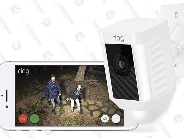 Secure Your Perimeter With $30 Off Ring Spotlight and Floodlight Cameras