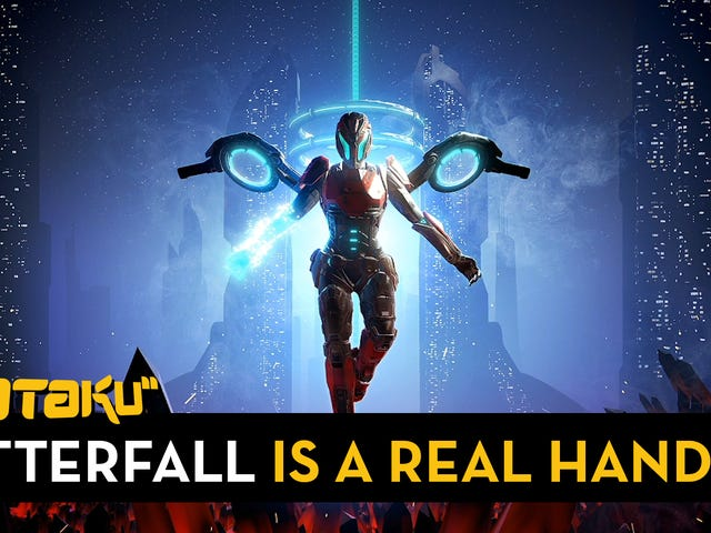 <i>Matterfall</i> är en <i>Metroid-Contra</i> som kräver otroligt skicklighet