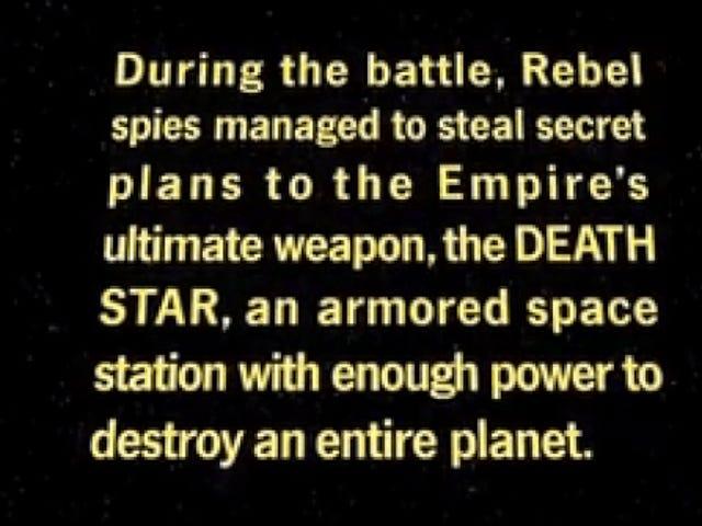 Cuối cùng chúng ta cũng có thể biết Rogue One đang xử lý Thu thập thông tin như thế nào