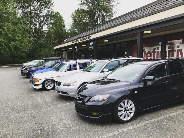 Seattle area Cars & Coffee