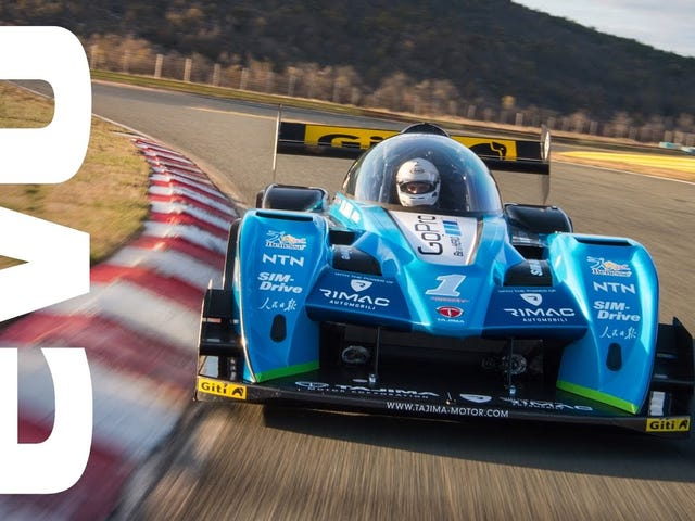 The Grandmaster of Pikes Peak and Rimac made a hillclimb special