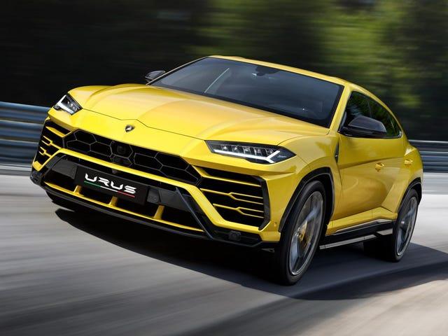 El 2019 Lamborghini Urus es una demostración brutal de velocidad y extravagancia