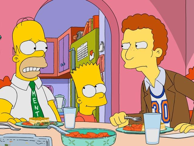 Homer trouve un fan et finit par parrainer un véritable imbécile dans Les Simpson