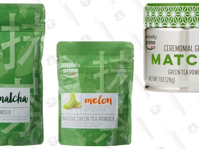 Amazon Makes Its Own Matcha, and It's All On Sale
