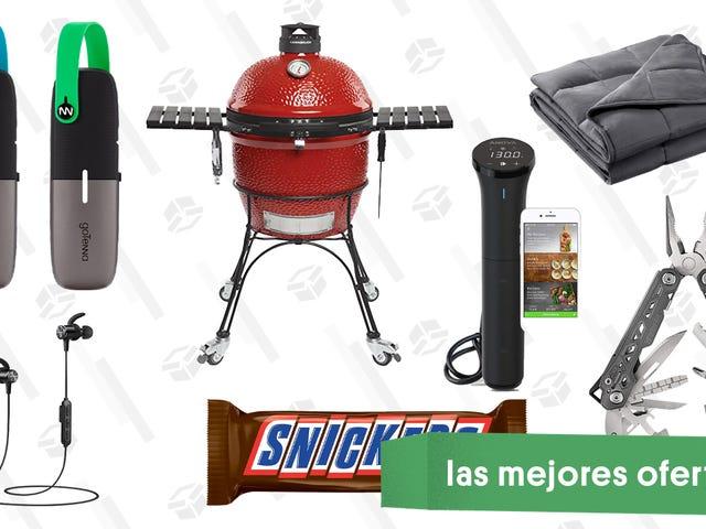 Las mejores ofertas de este jueves: Accesorios para el exterior, mantas antiestrés, Snickers gigantes y más