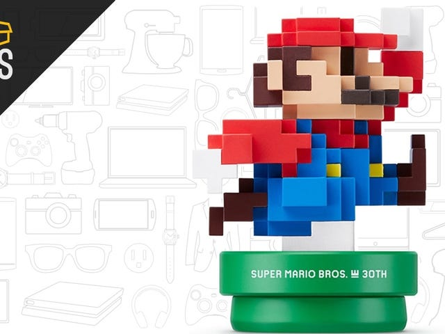 Add the Modern Mario Amiibo To Your Collection For $10
