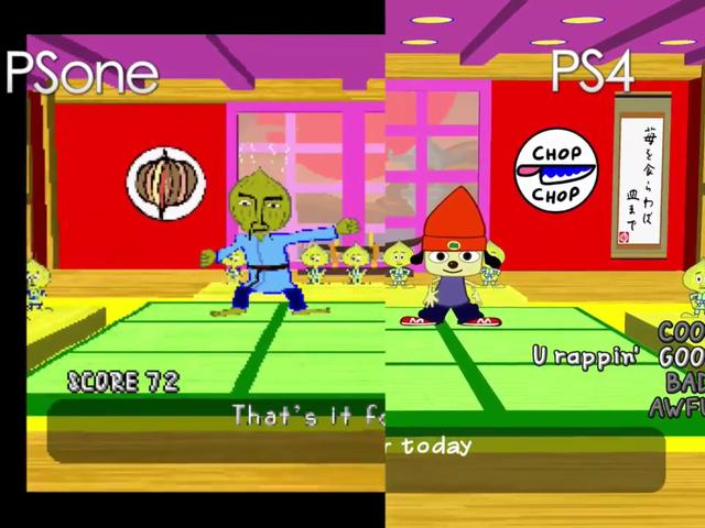 <i>Parappa The Rapper</i> PS4 पर वास्तव में तीव्र है