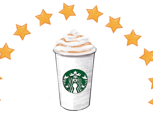 A Visual Guide to the Value of the Starbucks Rewards Program