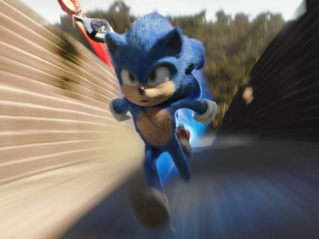 The Sonic movie should have had people puking in their seats