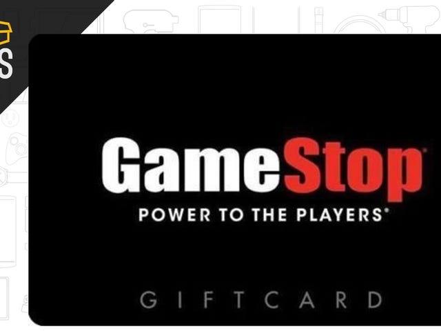 25 달러짜리 GameStop 기프트 카드 구입, 무료로 5 달러 보너스 받기