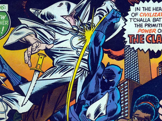 Marvelin musta panther on taistellut valkoisia suprematseja vuosikymmenien ajan ja hän ei ole pysähtynyt