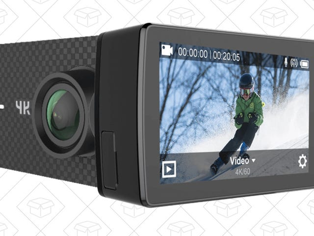 Shoot 4K/60 Footage With This Surprisingly Affordable Action Cam