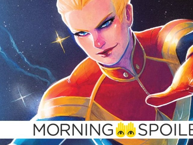 Samuel Jackson ofrece una mirada furtiva al <i>Captain Marvel</i> en modo batalla