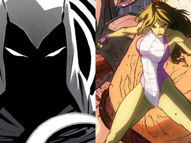 Marvel's She-Hulk dan Moon Knight Menunjukkan Hanya Memimpin Pemimpin mereka