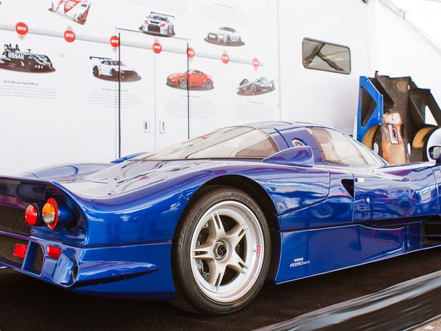 Two Wonderful, Pointlessly Obscure Facts About the Nissan R390 GT1