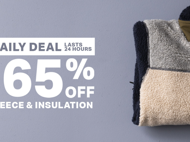 Save Up to 65% on Fleece and Insulation From Backcountry, Today Only