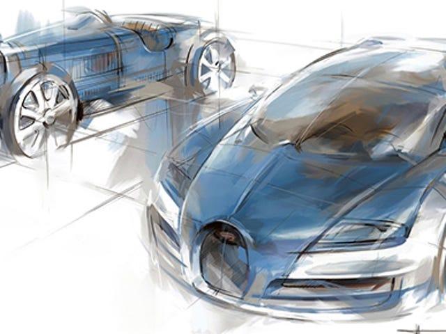 Nästa Bugatti Hypercar kommer att använda Veyrons W16