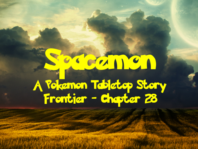 Spacemon: Frontier - Chapter 28: Trouble with Tyranitar