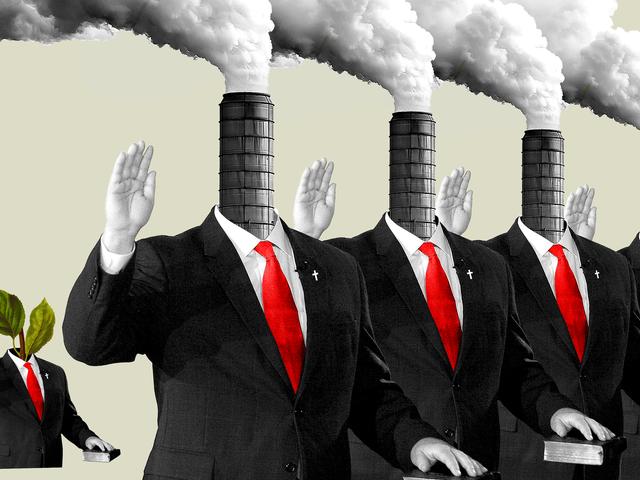 Hvordan fossile drivstoffpenger gjorde klimaendringer Nekt Guds ord