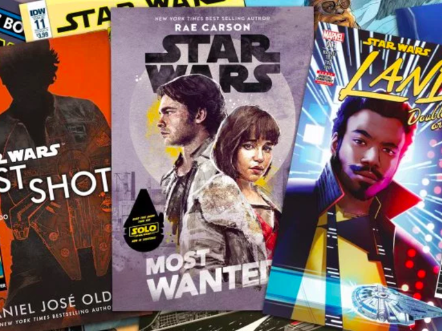 The Books Tied to Solo: A Star Wars Story Will Provide Crucial Connections