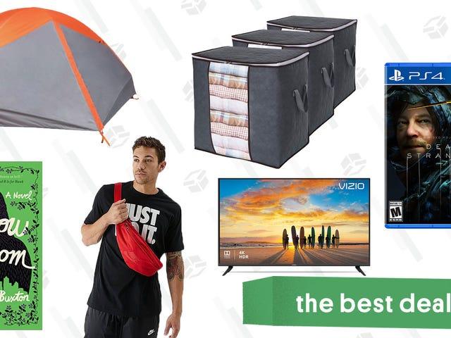 """Las mejores ofertas del domingo: Death Stranding, eBooks Kindle, TV de 55 """", bolsas de almacenamiento y más"""