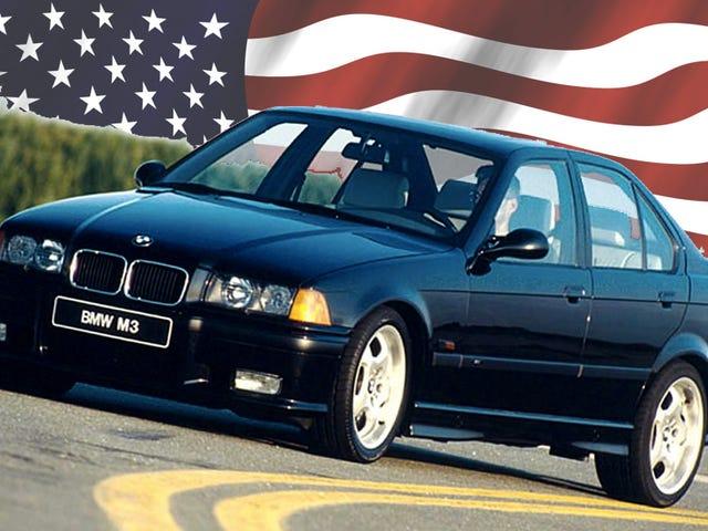Hvordan Amerika ble skrudd med E36 BMW M3