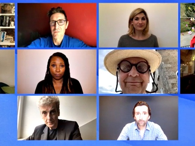 Watch the Stars of Doctor Who Spend Time Together (Remotely)