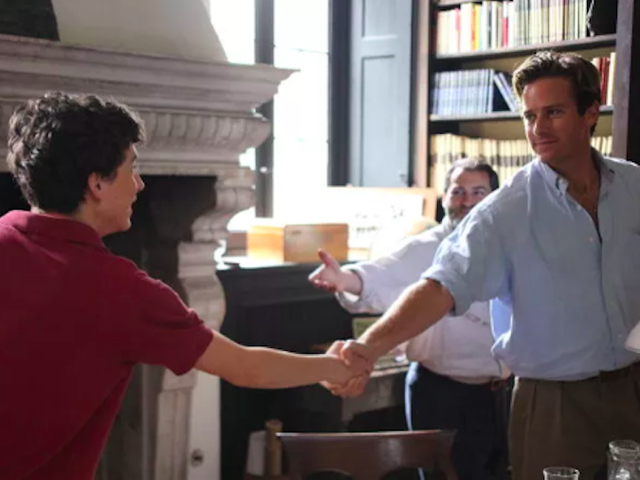 One ofCall Me By Your Name's best shots was Armie Hammer's idea