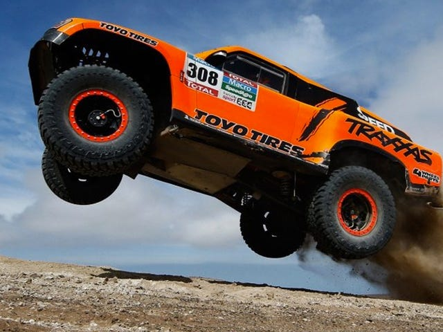 Robby Gordon Wins Final Stage Of 2015 Dakar Rally To Get 19th Overall