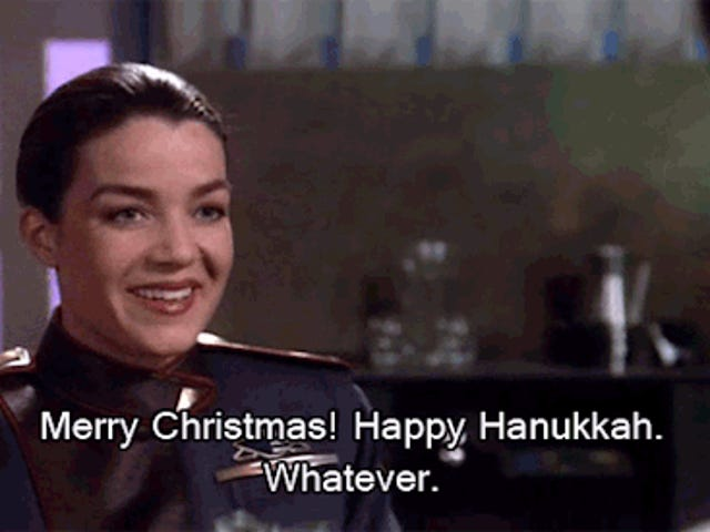 Saturday GIF Party - 'Twas the night before the night before Christmas Edition
