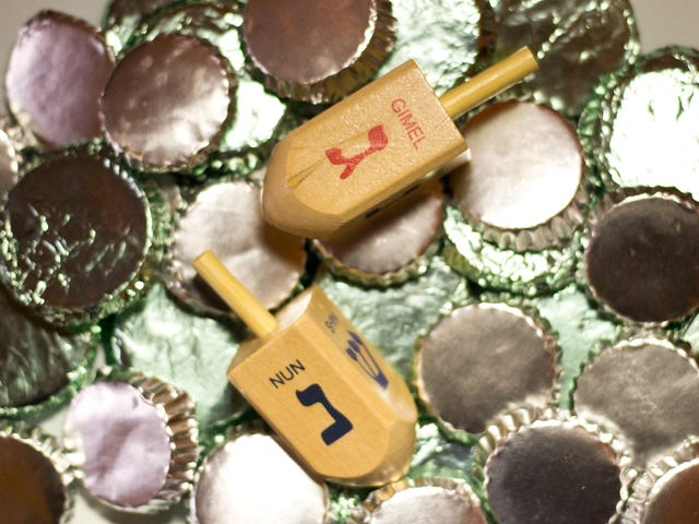 Make Cannabis-Infused Chocolate Gelt for an Adult Game of Dreidel This Hanukkah