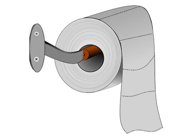 Dette er den rigtige måde at hænge toiletpapir på, ifølge videnskaben